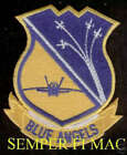 SUPER BOWL 50TH FLYOVER BLUE ANGELS HAT PATCH US NAVY MARINES SANTA CLARA GIFT