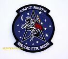 416th TACTICAL FIGHTER SQUADRON PATCH US AIR FORCE GHOSTRIDERS AIR GUARD PILOT
