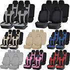 Premium Universal Double Stitched Polyester Car Low Back Seat Bench Cover Combo $26.95 USD on eBay