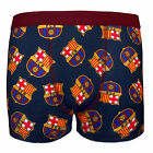FC Barcelona Official Soccer Gift 1 Pack Boys Crest Boxer Shorts