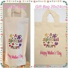 MOTHERS DAY BOTTLE BAG OR GIFT BAG WINE CHAMPAGNE PROSECCO WRAPPING SPECIAL MUM