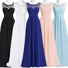 Women Chiffon Long Prom Dresses Evening Party Gowns Bridesmaid Cocktail Dress