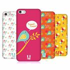 HEAD CASE DESIGNS BIRD PATTERNS HARD BACK CASE FOR APPLE iPHONE 5C