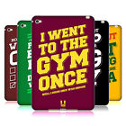 HEAD CASE DESIGNS FUNNY WORKOUT STATEMENTS SOFT GEL CASE FOR APPLE iPAD MINI 4
