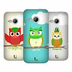 HEAD CASE DESIGNS FRUITOWLICIOUS HARD BACK CASE FOR HTC ONE MINI 2