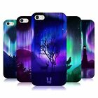 HEAD CASE DESIGNS NORTHERN LIGHTS SOFT GEL CASE FOR APPLE iPHONE 5 5S
