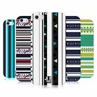 HEAD CASE DESIGNS PRINTED STRIPES SOFT GEL CASE FOR APPLE iPHONE 5 5S SE