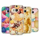 HEAD CASE DESIGNS SEASHELLS COLLECTION SOFT GEL CASE FOR HTC ONE M8