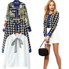 NEW Women's Lady Loose Long Sleeve Casual Blouse Shirt Tops Fashion Blouse T4X1