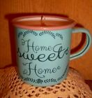 """Nellie's Acres """"HOME SWEET HOME"""" Enamelware 10 oz Soy Candle....So Cute!!!!!"""