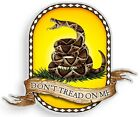 "Bumper Window 3M Reflective Sticker Decal Don't Tread on Me NEW choose 2"" 4"" 6"""