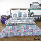 Boho Reversible Quilt Cover Set by Apartmento - SINGLE DOUBLE QUEEN KING