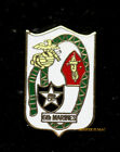 6TH MARINE REGIMENT HAT LAPEL PIN 2ND MAR DIVISION US MARINES Camp Lejeune Gift