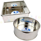 Invicta - ROUND / SQUARE High Quality Professional Cake Tin Pans / Bakeware Tins