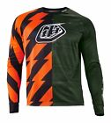 NEW 2016 TROY LEE DESIGNS TLD MOTO DH MTB JERSEY CAUSTIC ARMY GREEN ALL SIZES