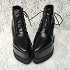 Lolita Punk Gothic Cosplay Platform Pointy Ankle Boots Shoes 5211n-12