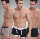 1pc Men's Sexy Cotton Underwear Boxer Briefs Underpants Trunks Shorts M-XXL