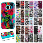 For Samsung Galaxy S7 / S7 EDGE IMPACT TUFF HYBRID Case Rubber Skin Phone Cover