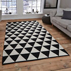 Think Rugs Manhattan MH211A 100% Wool Indian Handmade Flat Weave Rug
