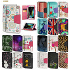 Diary-Style Faux Leather Folio Case w/ID Slot+Stand Flip Cover for LG Models