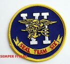 SEAL TEAM SIX 6 LOGO VEST PATCH US NAVY VETERAN GIFT QUILT BIN LADEN GERONIMO