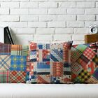 Modern Colorful Ethnic Style Pillow Case Sofa Decor Cushion Cover Square Linen