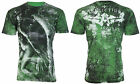 AFFLICTION Mens T-Shirt LUCINDA Angel Tattoo Motorcycle Biker MMA UFC Jeans $66 image