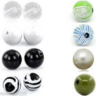 Acrylic Spacer Beads Round Ball  M1113