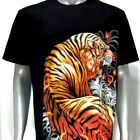 sc134 Survivor Chang T-shirt Sz M L XL Tattoo Glow in Dark HD Print Tiger Wild