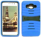 BLUE & ARMY GREEN U-Case Hybrid Cover Case for Samsung Galaxy Grand Prime