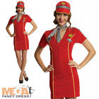 Racing Girl Driver Fancy Dress Ladies Sports Adults Grand Prix Costume Outfit