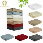 6 Color Choice - 400TC Bamboo Cotton Sheet Set by Ramesses QUEEN KING