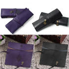 2pcs New PU Leather Make up Brush Bag Case Pen Pencil Pouch Stationery Box Purse