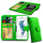 Clip On PU Leather Flip Wallet Book Case Cover For Apple iPhone 3GS