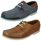 Mens Clarks Boat Shoes Style Kendrick Sail -W