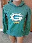 NFL Green Bay Pckers NEW hooded sweatshirt Youth Sizes S-XL NWT Team colors