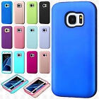 For Samsung Galaxy S7 IMPACT Verge HYBRID Case Skin Phone Cover +Screen Guard