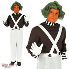 MENS FACTORY WORKER & WIG FANCY DRESS COSTUME