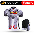 210 Nuckily Men's Mountain Bike Sports Short Sleeves Cycling Jersey+Shorts Set