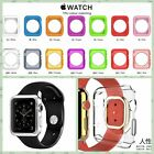 Apple Watch Slim Screen Protector and Colorful Silicone TPU Case For 38mm/42mm
