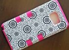 For Samsung Galaxy Note 3 4 5 Rugged Silicone Rubber Shockproof Armor Case Cover