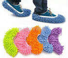 House Floor Foot Sock Shoe Mop Slipper Lazy Quick Polishing Cleaning Dust EWUK