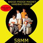 HANK MARVIN SHADOWS- 58 mm BADGE-FRIDGE MAGNET OR HANDBAG MIRROR CD1