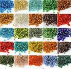 32g (about 500pcs)  4mm x 3.2mm Czech Glass Seed Spacer beads Jewelry Making DIY