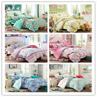 Floral Duvet Covers Double/Queen/King Size Bed New Cotton Quilt/Doona Covers Set