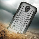 Rugged Case Stand Hard Cover Holster For ZTE Stratos LTE Allstar Z818L Z819C