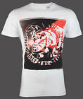 DIESEL Mens T-Shirt T9-MOHICAN Mohawk WHITE Casual Designer Jeans M-XL $58 NWT