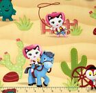 DISNEY SHERRIFF CALLIE PONY LICENSED SEWING CRAFT QUILT FABRIC Free Oz Post
