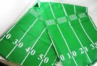 Assorted Sizes Football Play Field Super Bowl Party Vinyl Tablecloth FREE SHIP