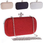 NEW Shiny Women's Evening Bag Handbag Party Cocktail Clutch Chain Shoulder Bags